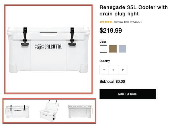 Calcutta Renegade Cooler
