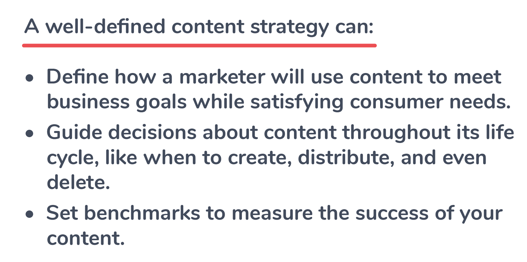Defined Content Strategy