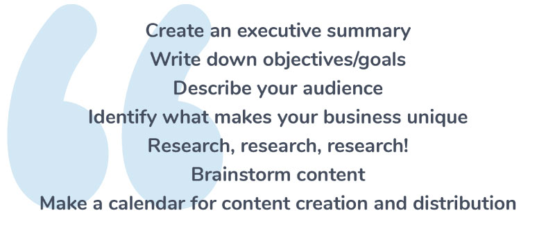 How do You Write a Content Marketing Plan