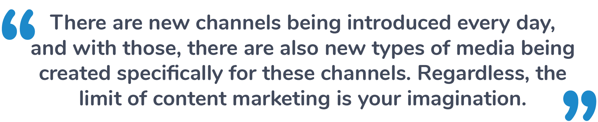 content marketing channels