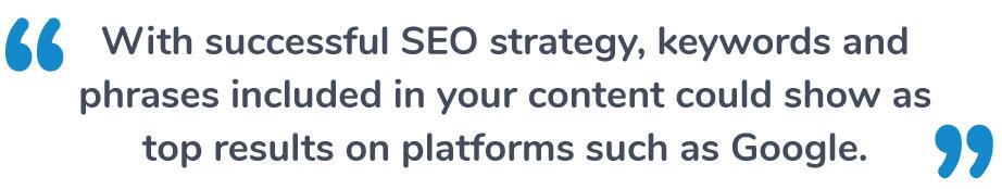 Successful SEO Strategy