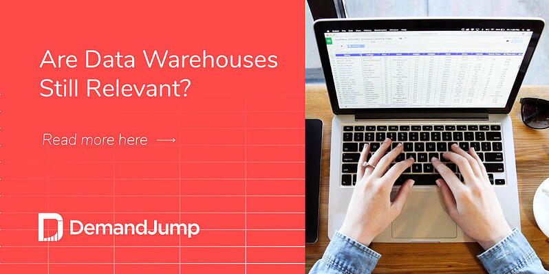 Are data warehouses still relevant?