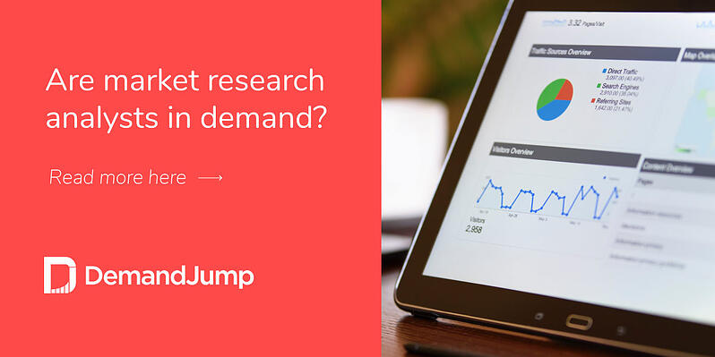 Are market research analysts in demand?