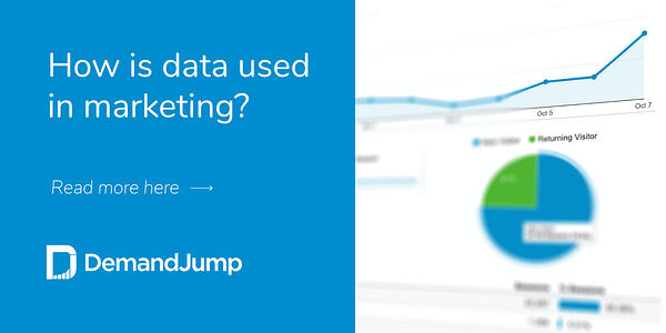 How is data used in marketing?