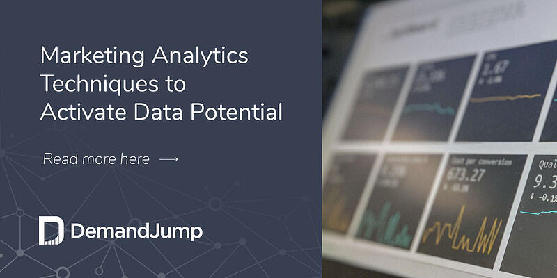 Marketing Analytics Techniques to Activate Data Potential