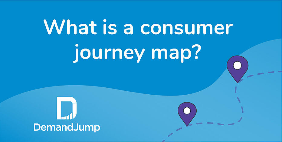 What is a consumer journey map?