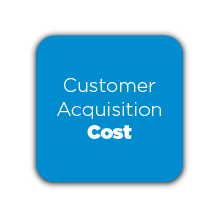Customer Acquisition Cost Button