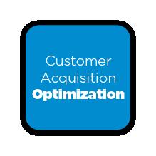 Customer Acquisition Optimization Button