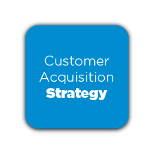 Customer Acquisition Strategy Button