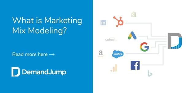 marketing mix modeling and marketing attribution
