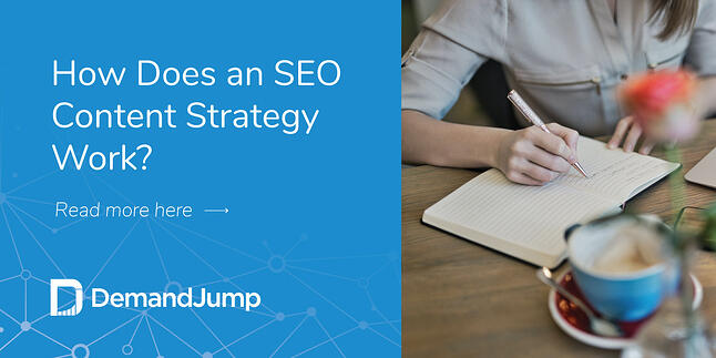How does an SEO content strategy work?