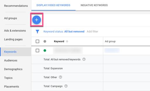 contextual targeting google ads