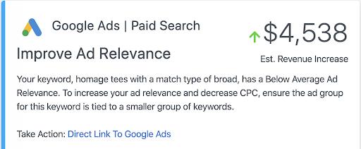 Channel Optimization - Improve Ad Relevance