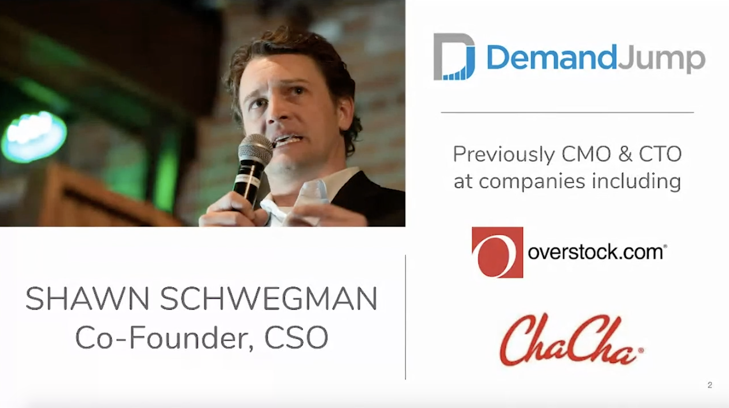 New Consumer Insights Reveal the Hidden Path to Purchase | Shawn Schwegman at ConnectCMO 2020