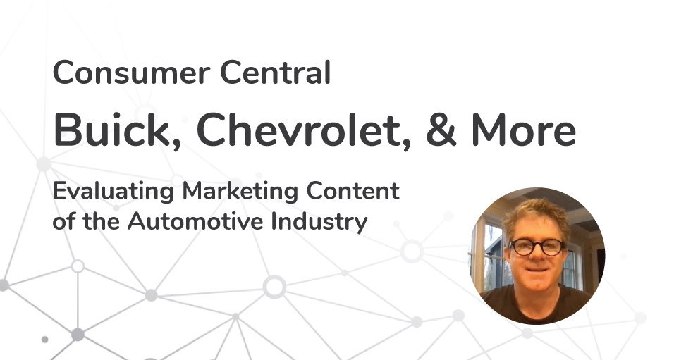 Evaluating Marketing Content of the Automotive Industry | Episode 07
