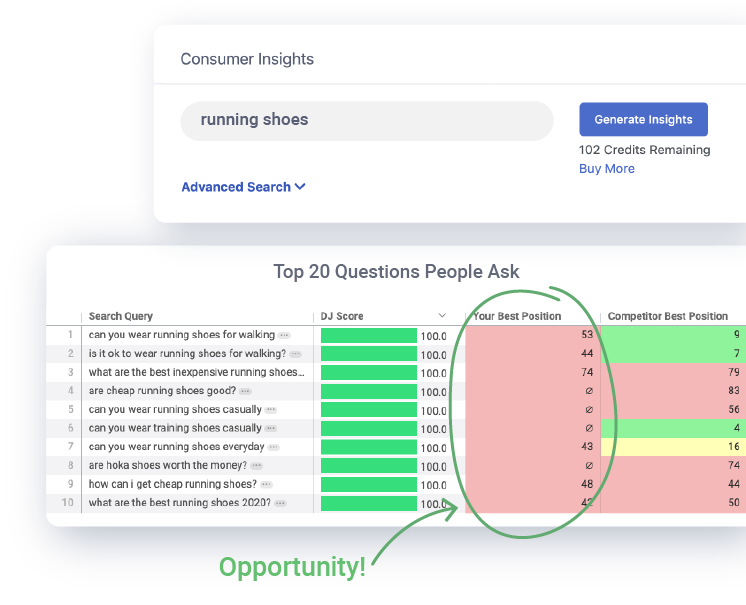 Consumer Insights for Marketing
