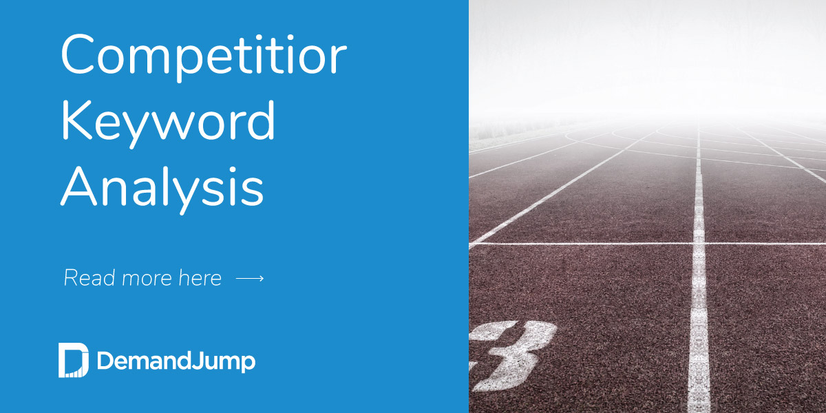 Competitor Keyword Analysis