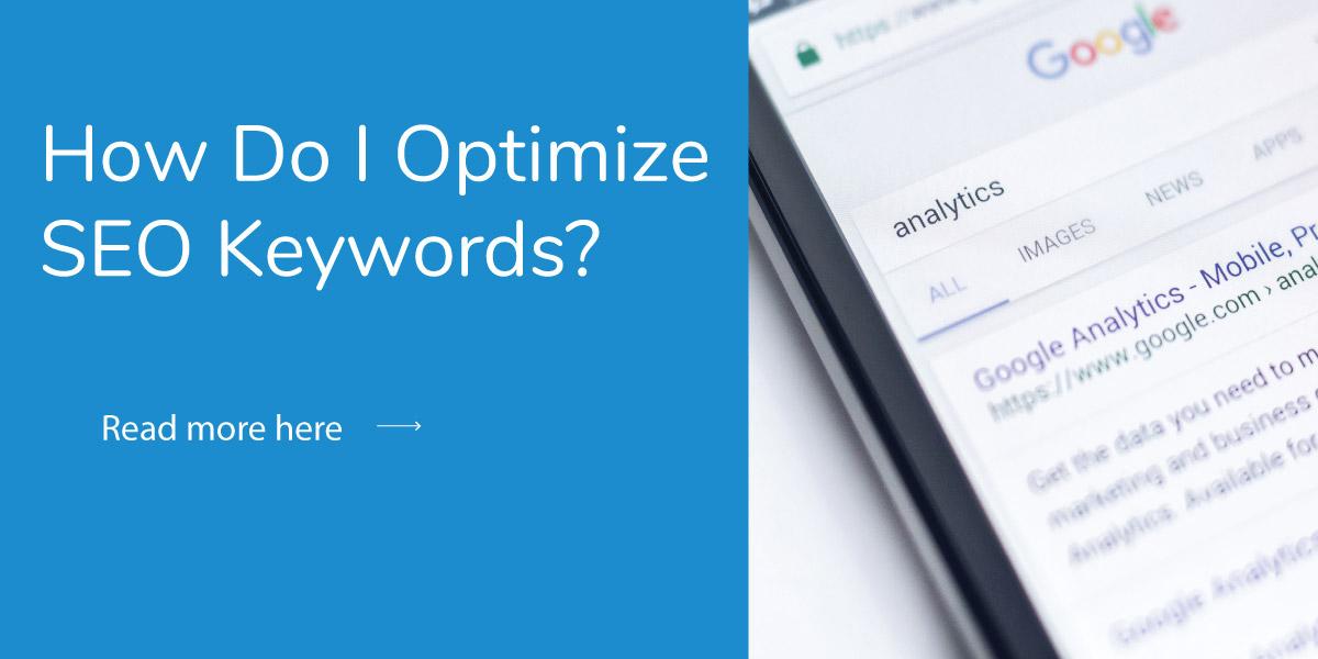 How Do I Optimize SEO Keywords?