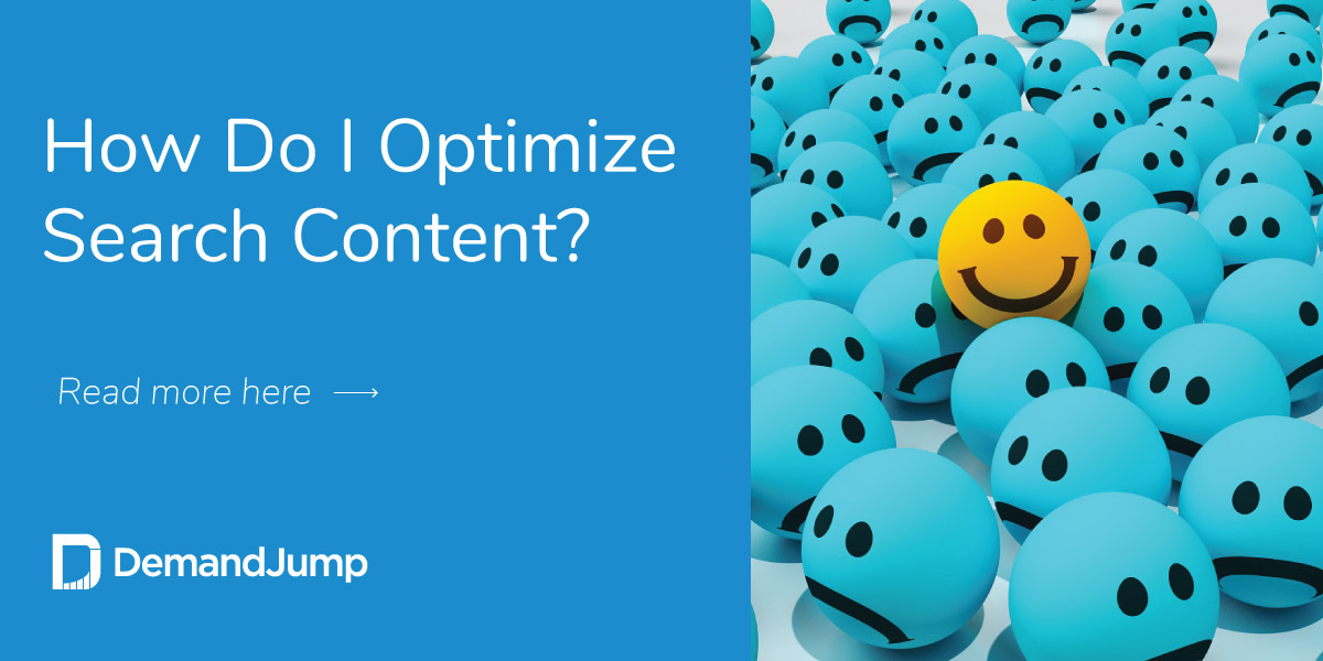 How Do I Optimize Search Content?