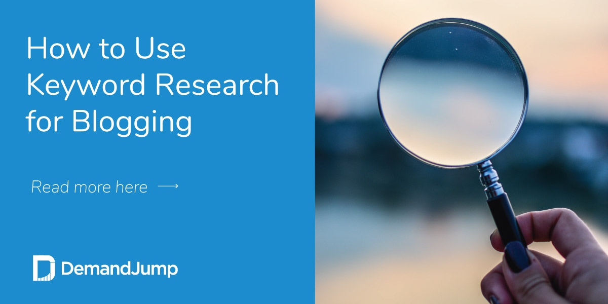 How to Use Keyword Research for Blogging